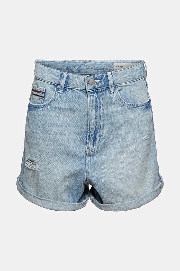Denim shorts made of 100% organic cotton