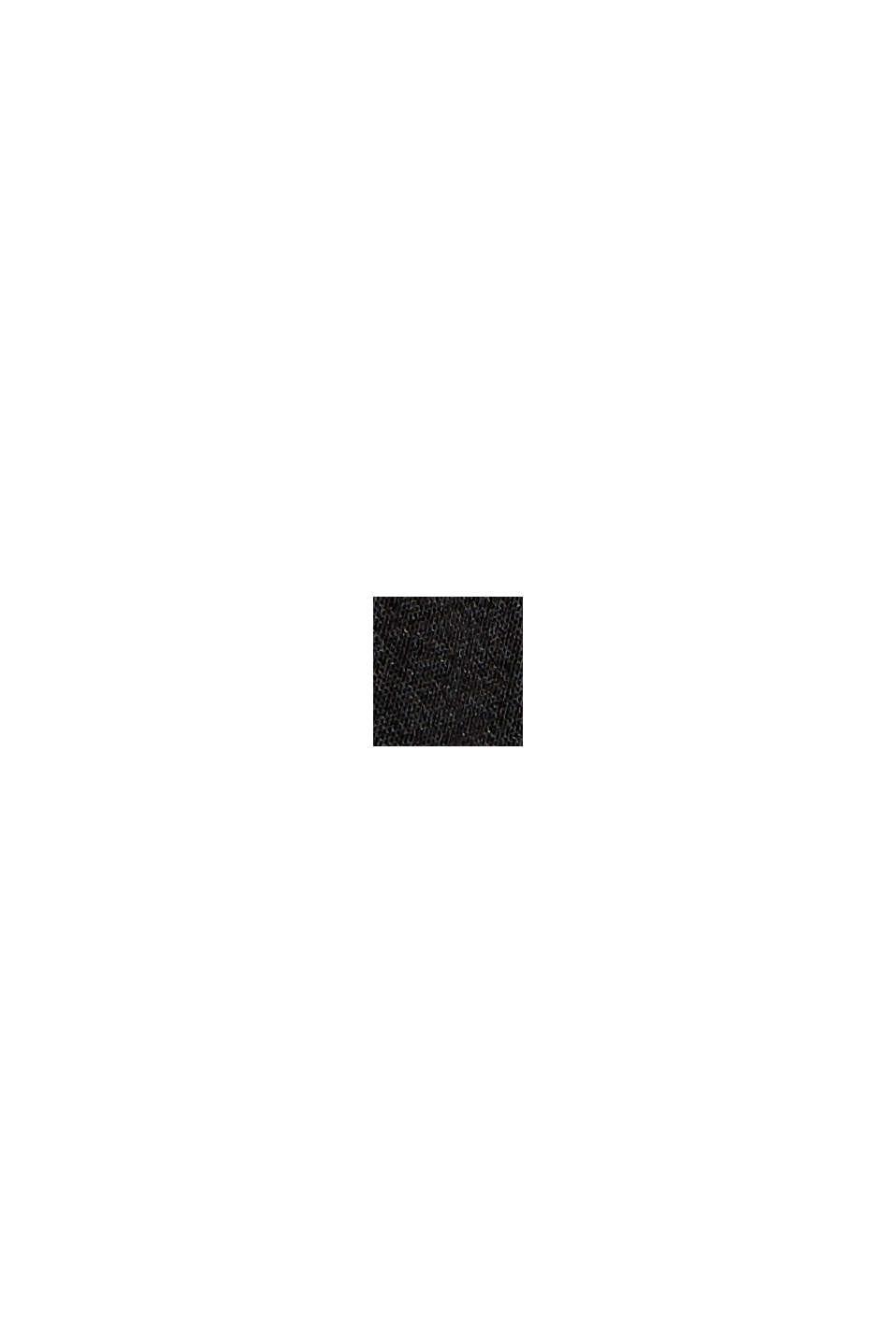 Minifalda con cintura elástica, BLACK, swatch