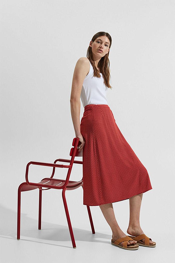 Slå om-nederdel af LENZING™ ECOVERO™
