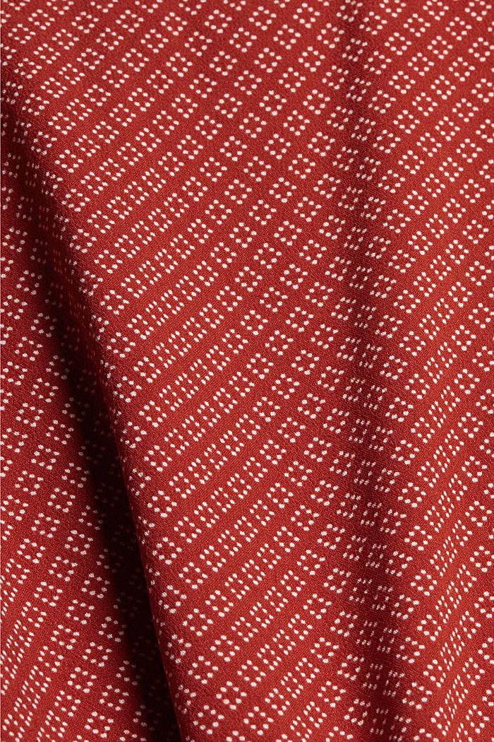 Wikkelrok van LENZING™ ECOVERO™, TERRACOTTA, detail image number 4