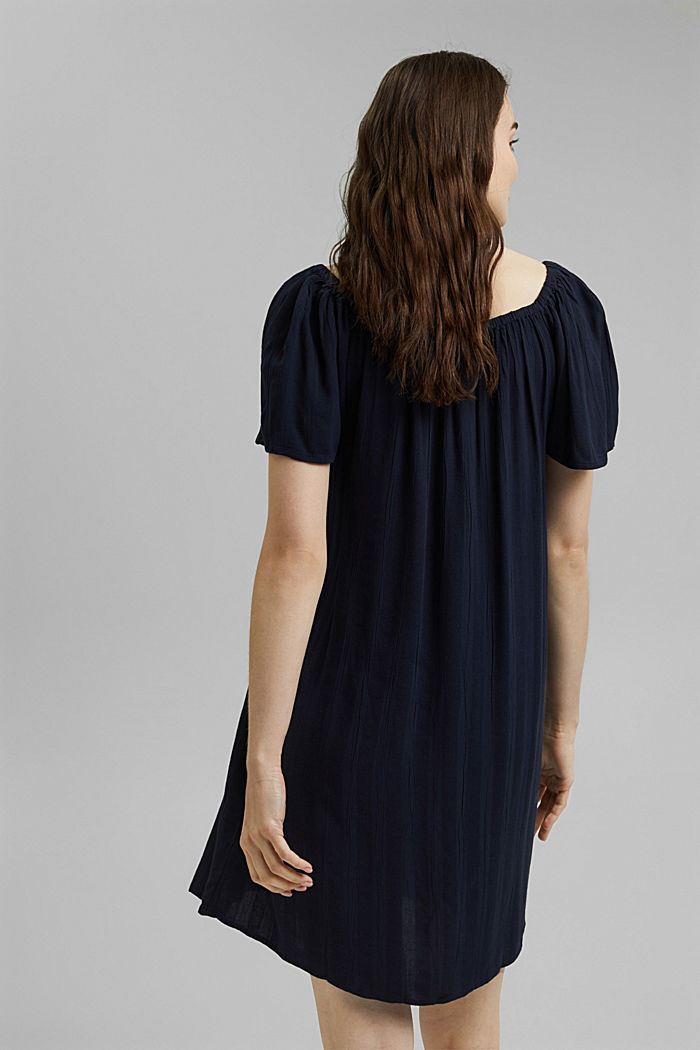 Tent dress with smocked details, NAVY, detail image number 2
