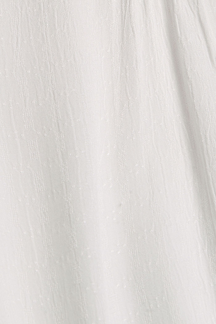 Bluse aus LENZING™ ECOVERO™, OFF WHITE, detail image number 4