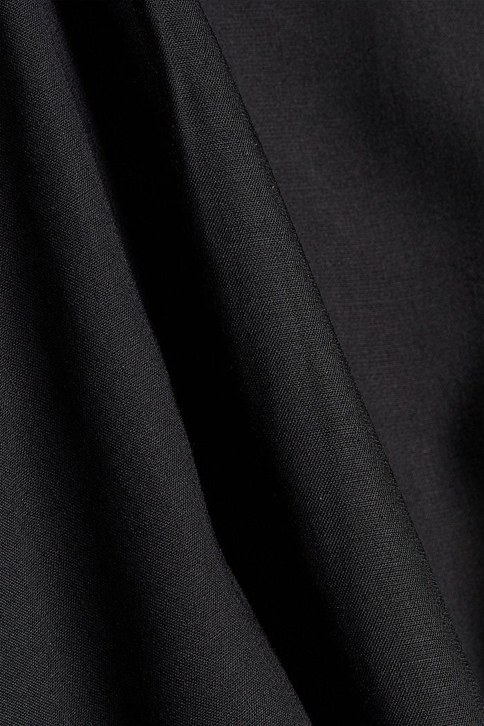 Trägertop aus LENZING™ ECOVERO™, BLACK, detail image number 4