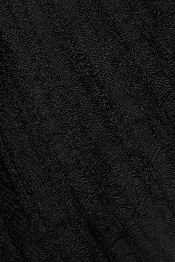 Neckholdertop mit Organic Cotton, BLACK, detail image number 4