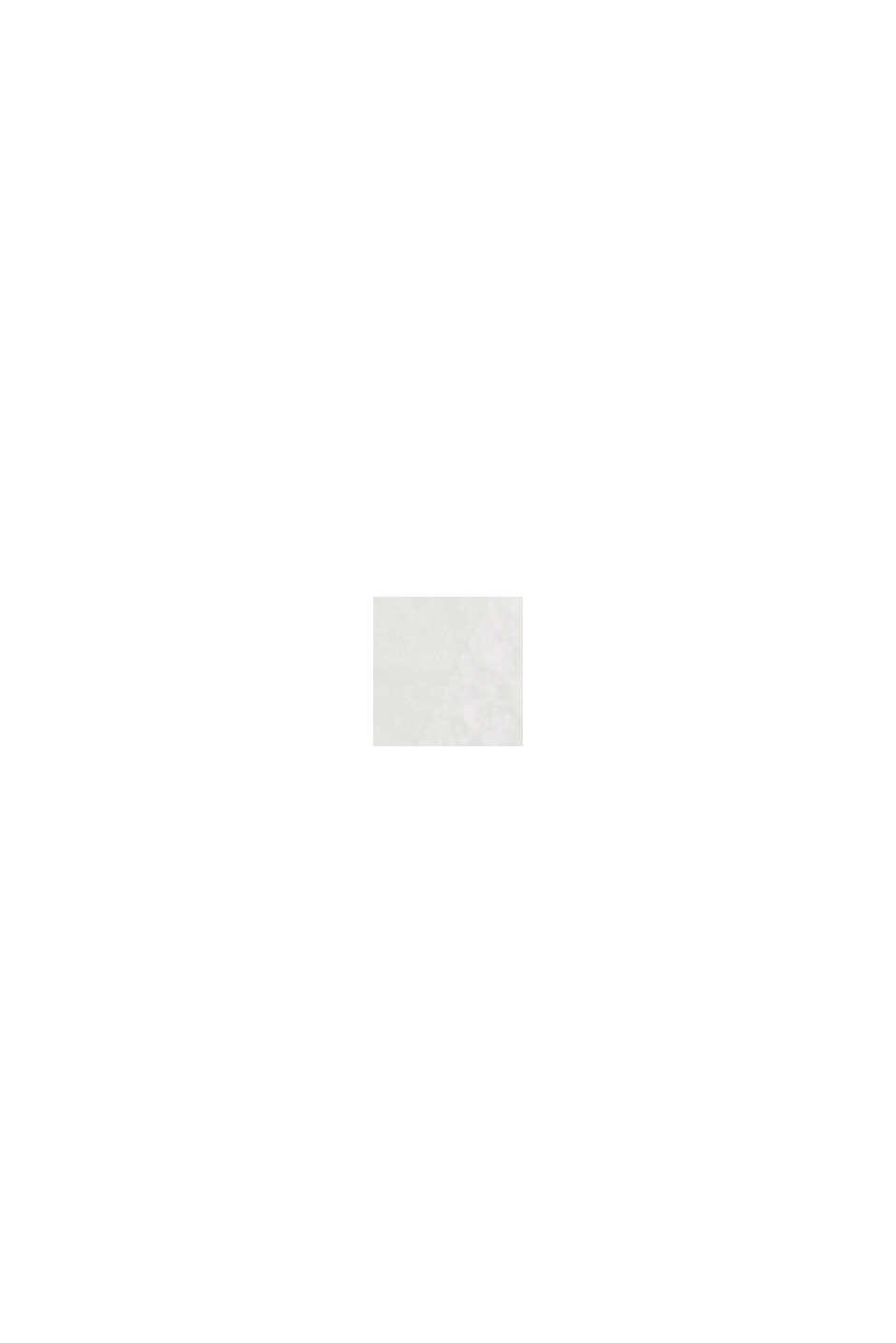 Top con cuello halter y algodón ecológico, OFF WHITE, swatch