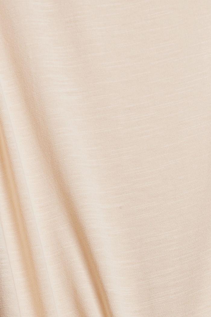 Tanktop mit Knoten, Organic Cotton, NUDE, detail image number 4