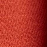 T-shirt med knytning, ekologisk bomull, TERRACOTTA, swatch