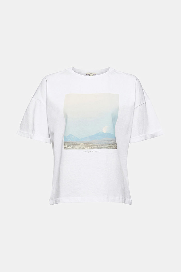 Photo print T-shirt, 100% cotton