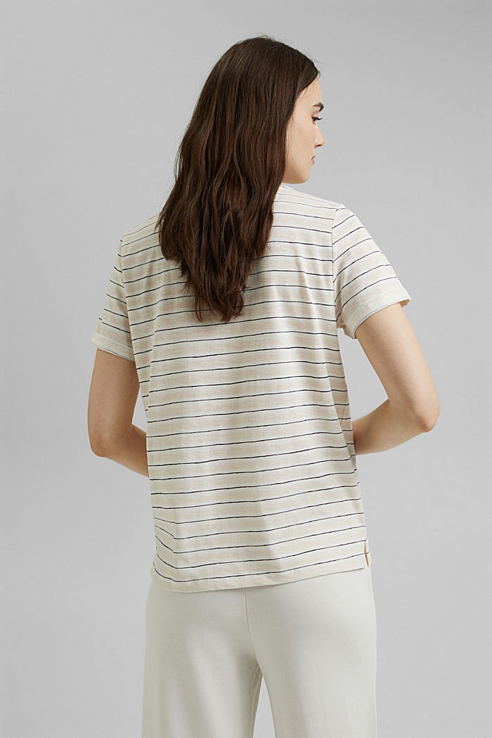 Printed T-shirt made of 100% organic cotton, OFF WHITE, detail image number 3