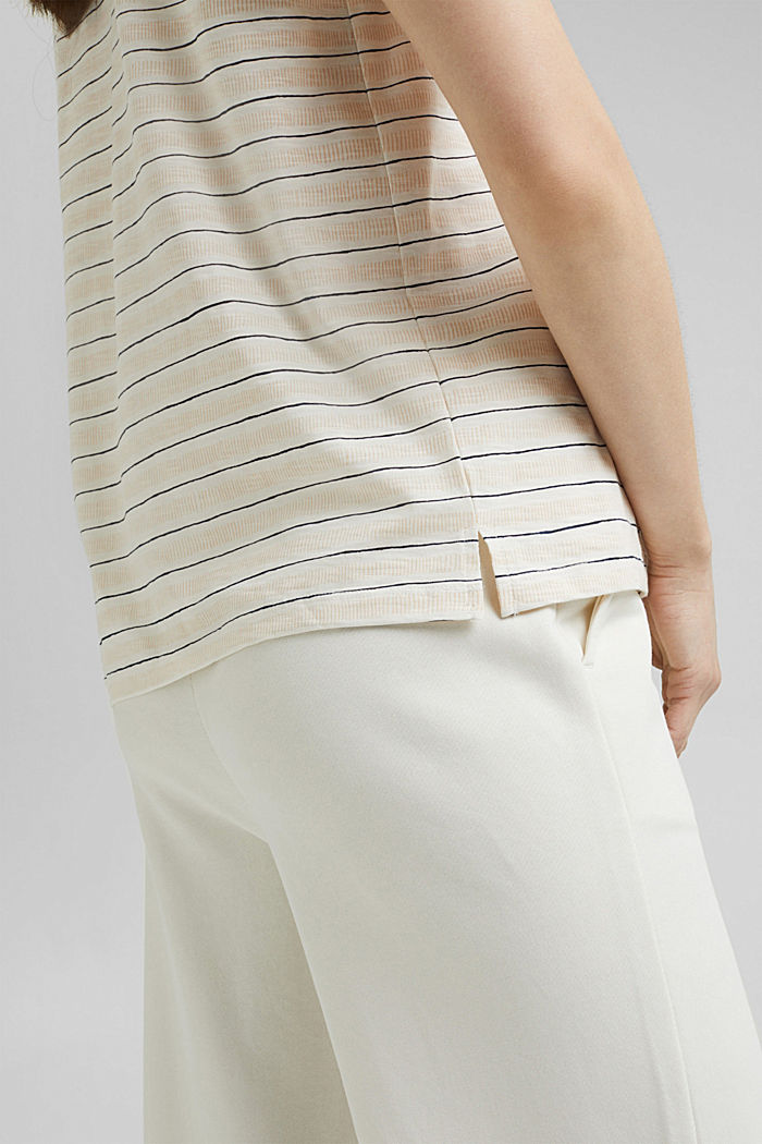 Printed T-shirt made of 100% organic cotton, OFF WHITE, detail image number 5
