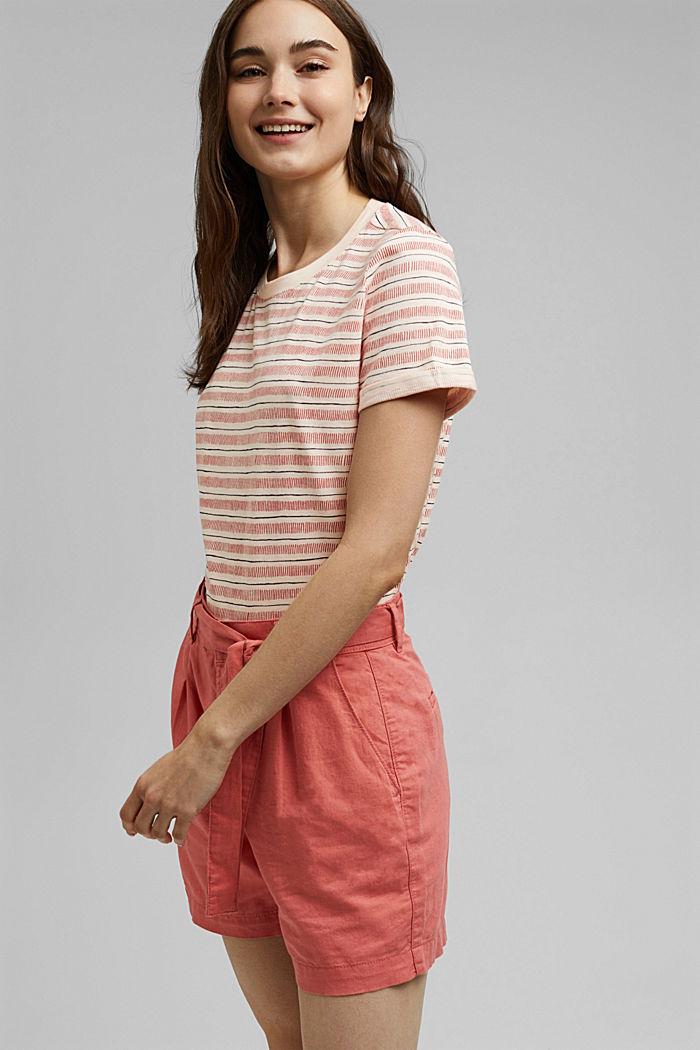 Tričko s potiskem, ze 100% bio bavlny, NUDE, detail image number 0