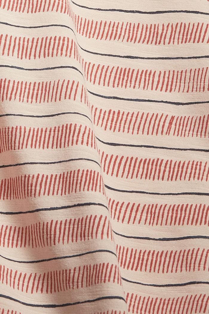 Tričko s potiskem, ze 100% bio bavlny, NUDE, detail image number 4