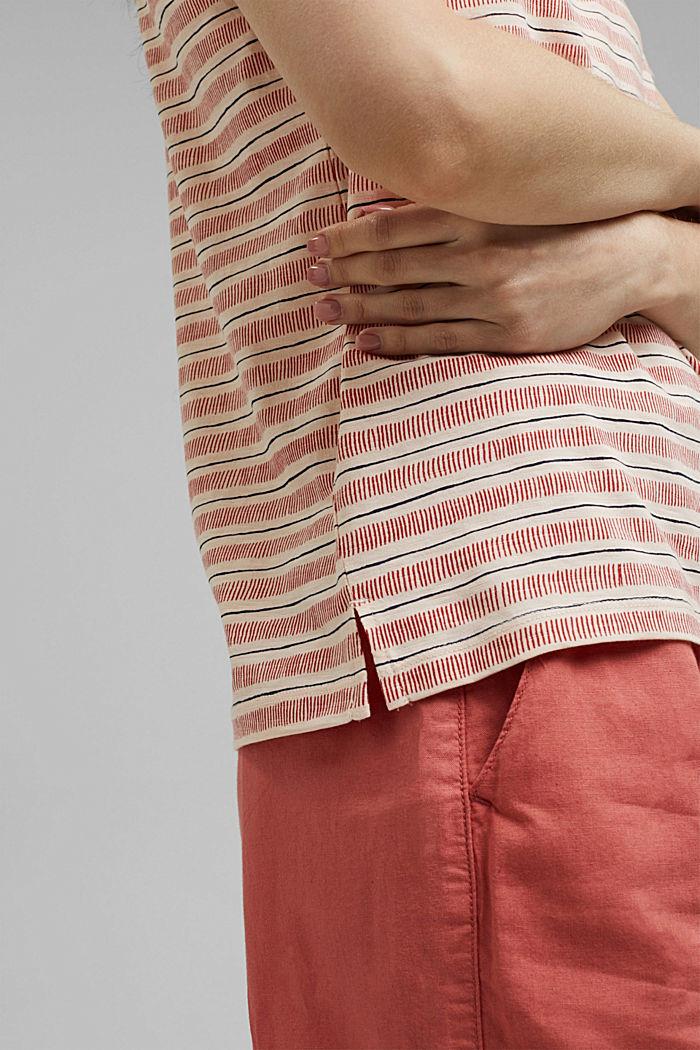 Tričko s potiskem, ze 100% bio bavlny, NUDE, detail image number 5