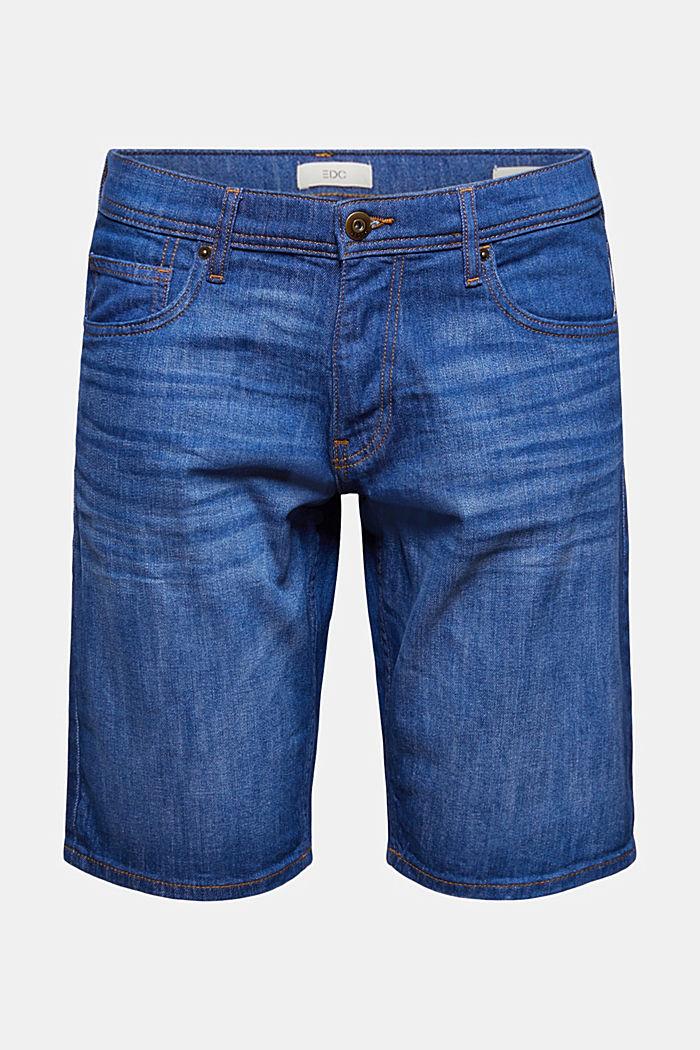 Jeans-Bermudas aus Bio-Baumwolle