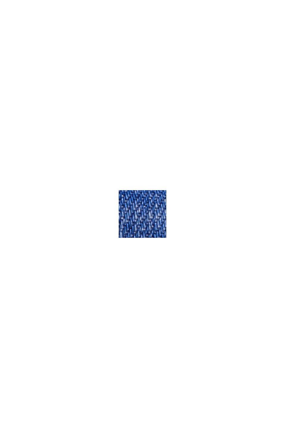 Jeans-Bermudas aus Bio-Baumwolle, BLUE DARK WASHED, swatch