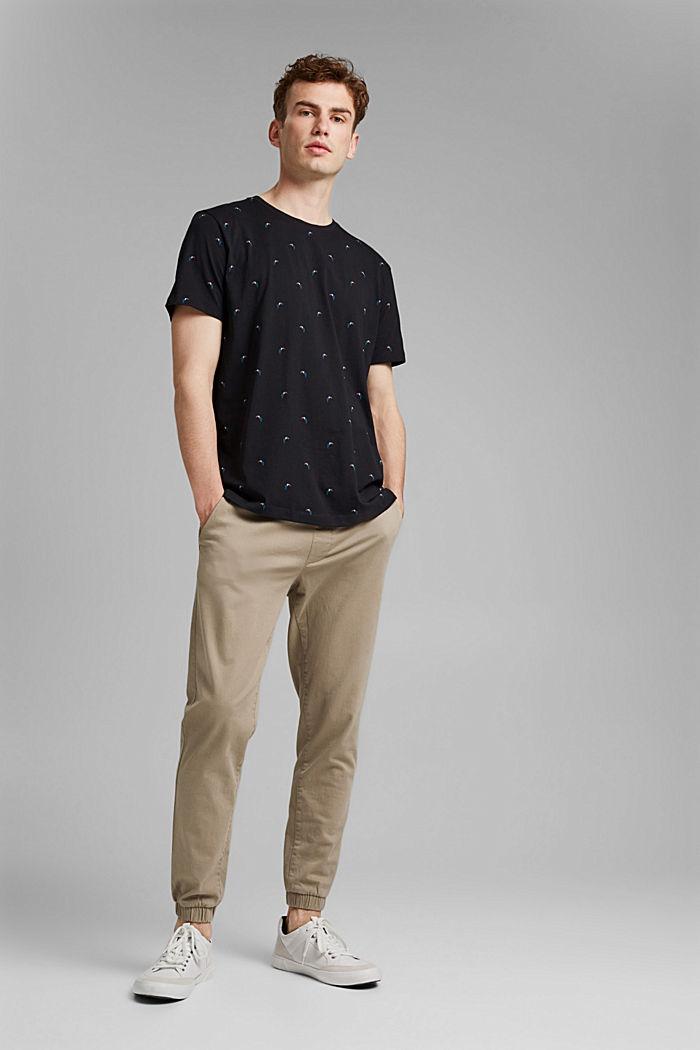 Tukaanikuvioinen jersey-t-paita, 100 % luomupuuvillaa