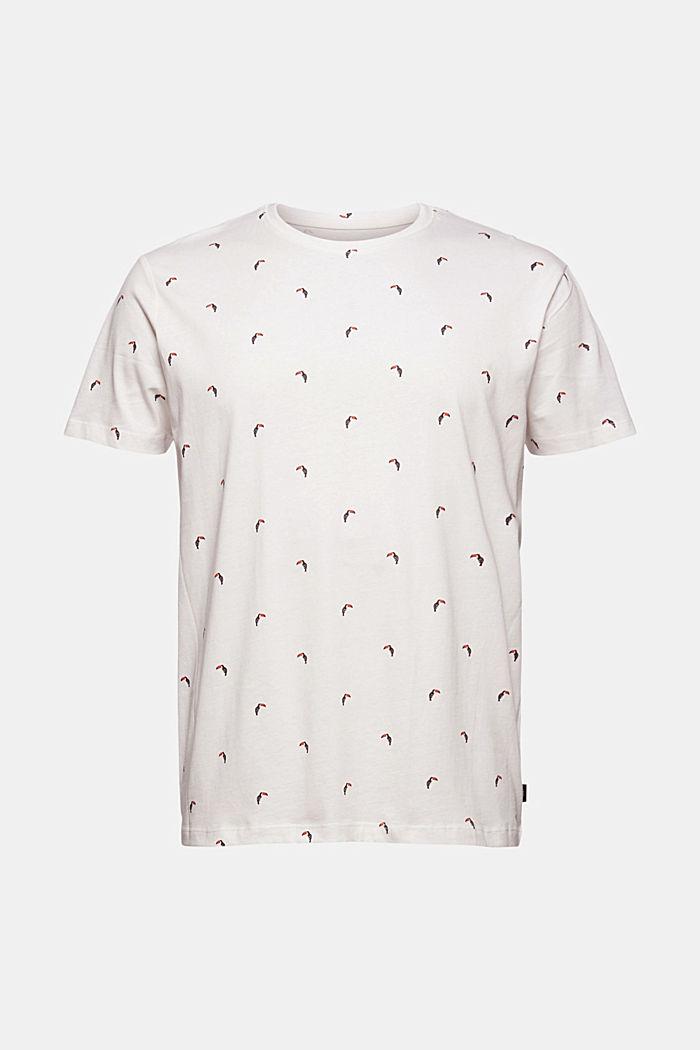 T-shirt en jersey à imprimé toucan, 100% coton bio