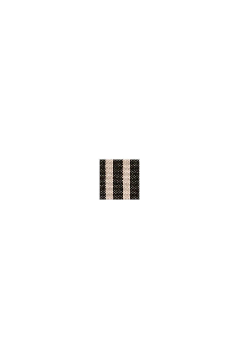 Sac besace en toile et cuir, BLACK COLORWAY, swatch