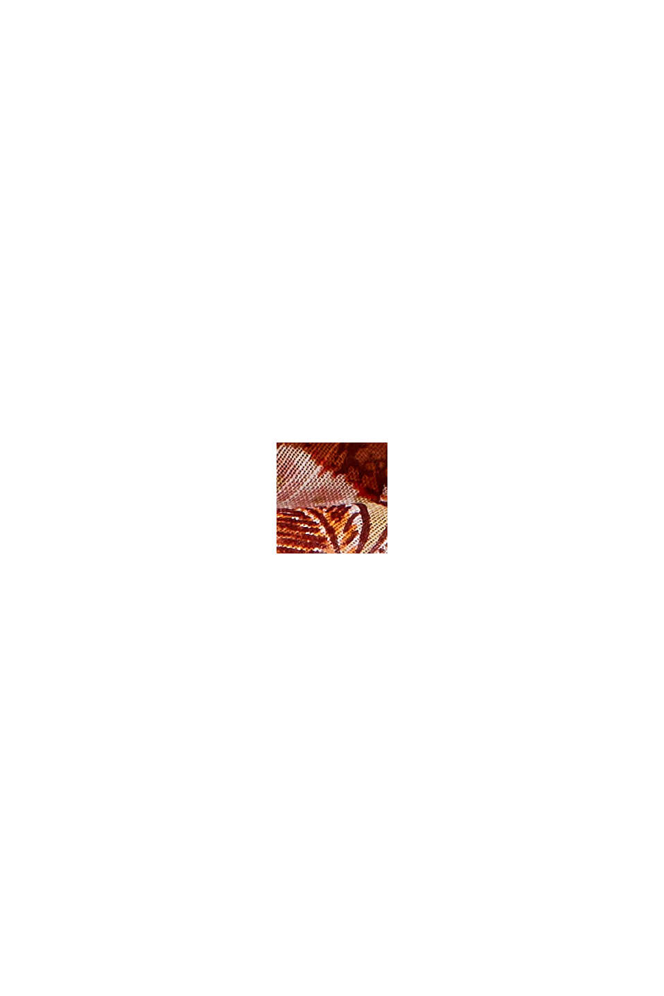 Schal mit Dschungel-Print, LENZING™ ECOVERO™, CAMEL, swatch