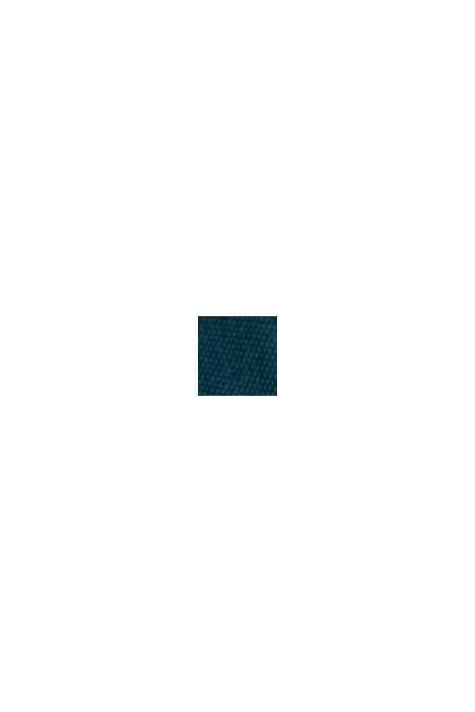Blommig culottebyxa med LENZING™ ECOVERO™, TEAL GREEN, swatch