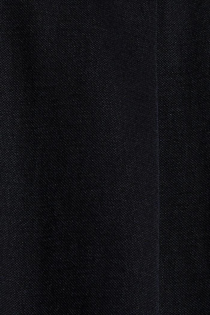 Short en jersey à teneur en fibres LENZING™ ECOVERO™, BLACK, detail image number 4