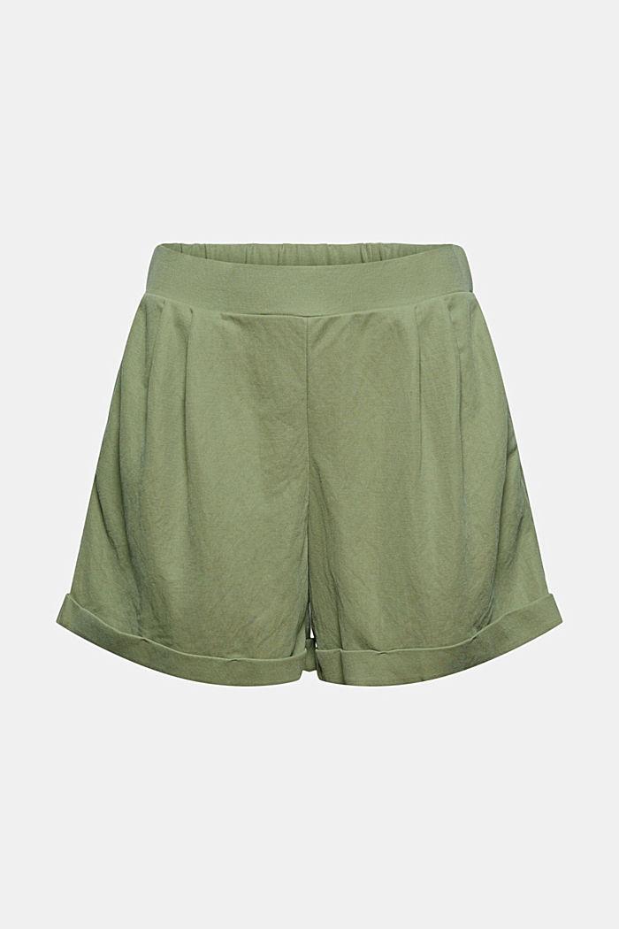 Short en jersey à teneur en fibres LENZING™ ECOVERO™