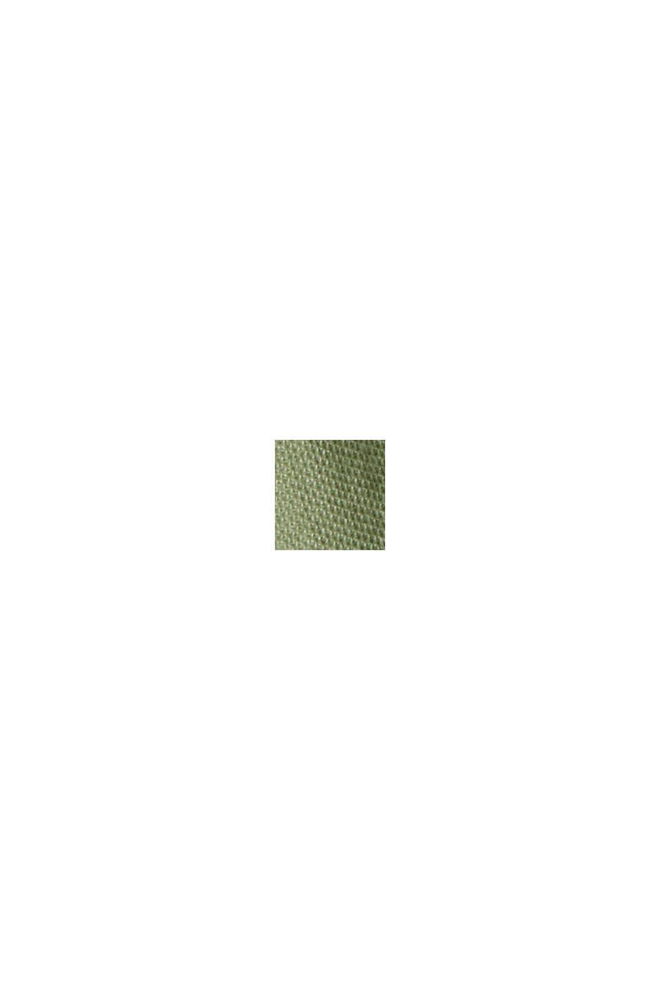 Short en jersey à teneur en fibres LENZING™ ECOVERO™, LIGHT KHAKI, swatch