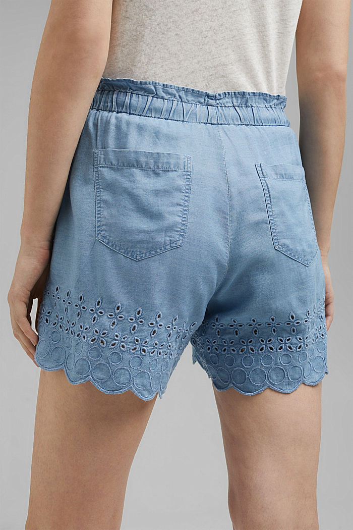 Shorts woven, BLUE BLEACHED, detail image number 5