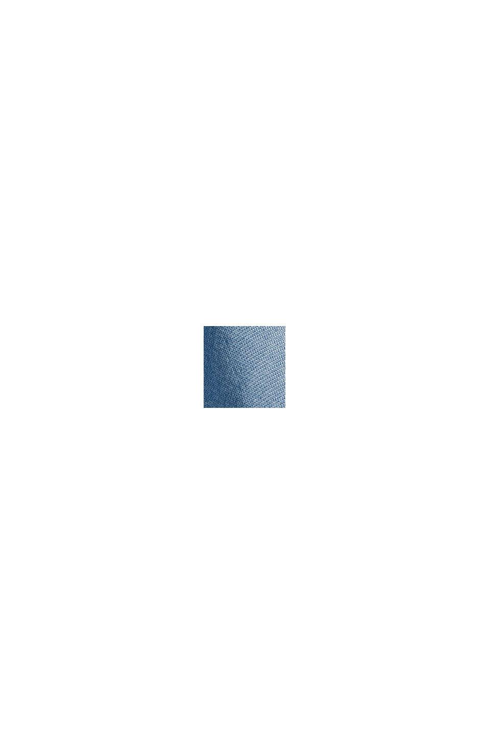 En TENCEL™: le short à broderie, BLUE BLEACHED, swatch