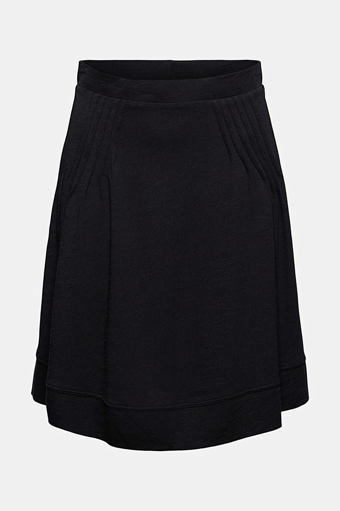 Jersey rok met A-lijn, van biologisch katoen/TENCEL™
