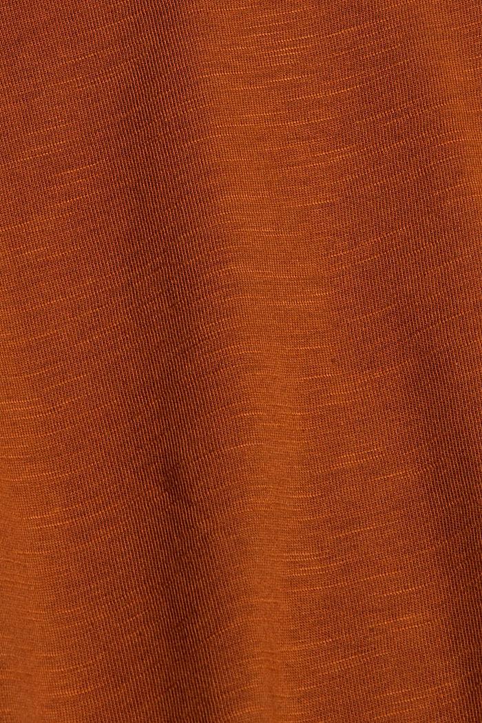 A-Linie Jerseyrock aus Bio-Baumwolle/Tencel™, CARAMEL, detail image number 4