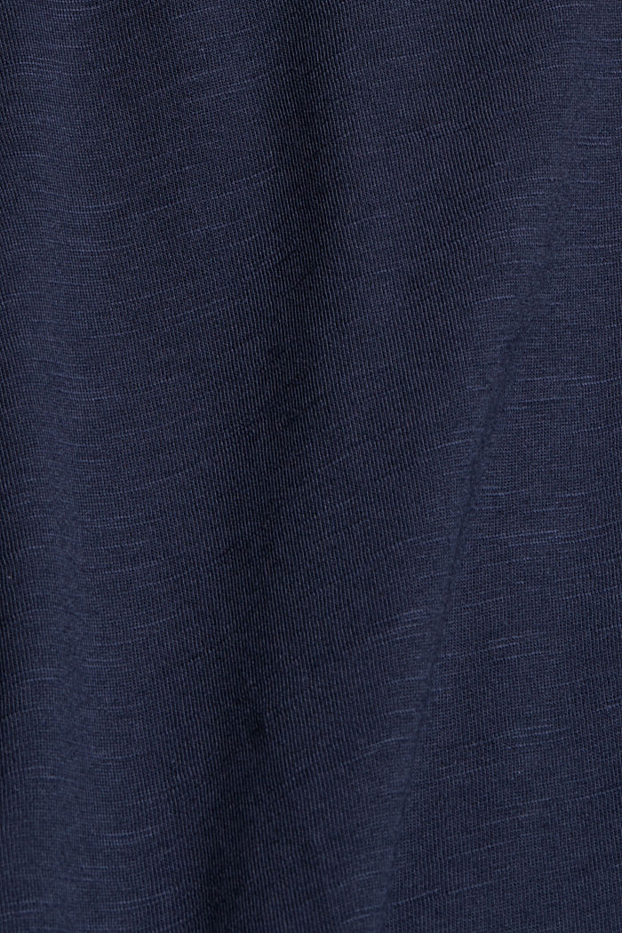 A-line jersey skirt made of organic cotton/TENCEL™, NAVY, detail image number 4