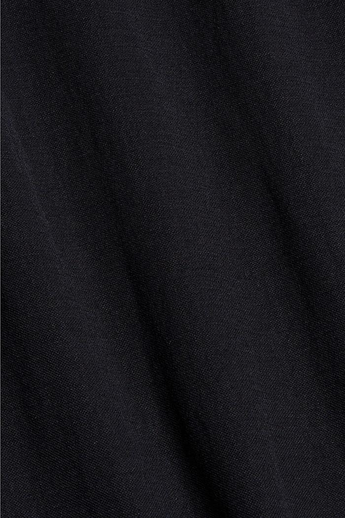 Jersey-Maxirock mit LENZING™ ECOVERO™, BLACK, detail image number 4