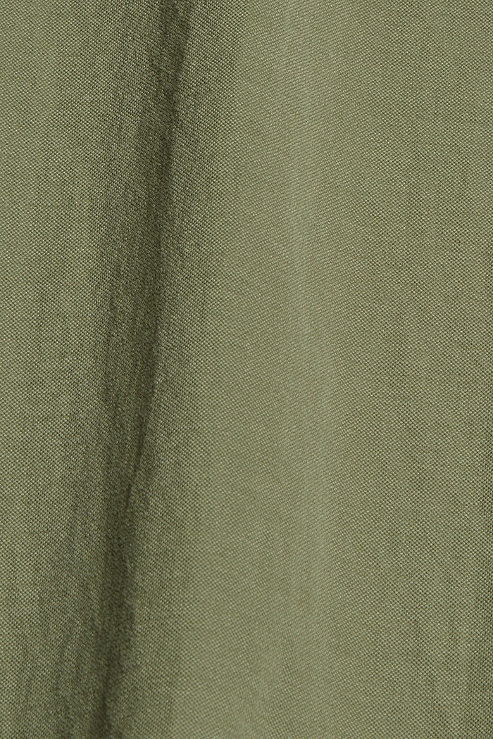 Jersey maxirok met LENZING™ ECOVERO™, LIGHT KHAKI, detail image number 4