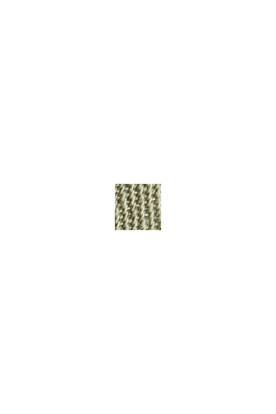 Falda de estilo paperbag confeccionada en TENCEL™/algodón ecológico, LIGHT KHAKI, swatch