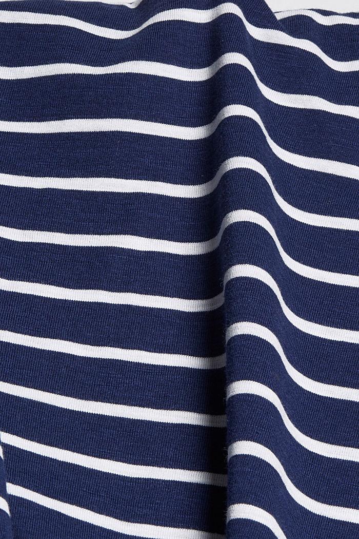 Midirok van jersey, biologisch katoen/TENCEL™, DARK BLUE, detail image number 4