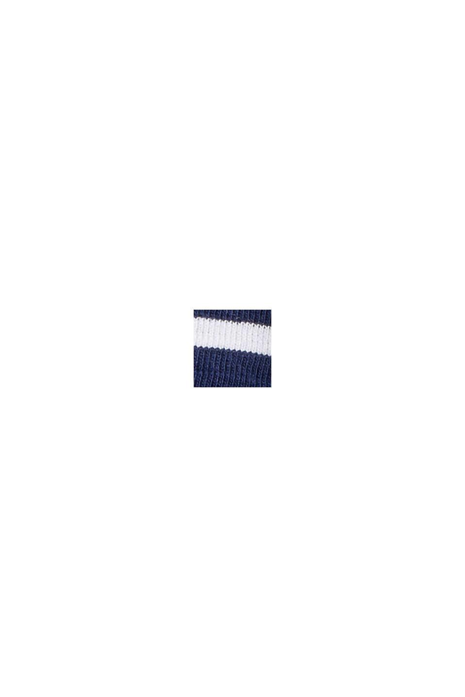 Midirock aus Jersey, Bio-Baumwolle/ TENCEL™, DARK BLUE, swatch
