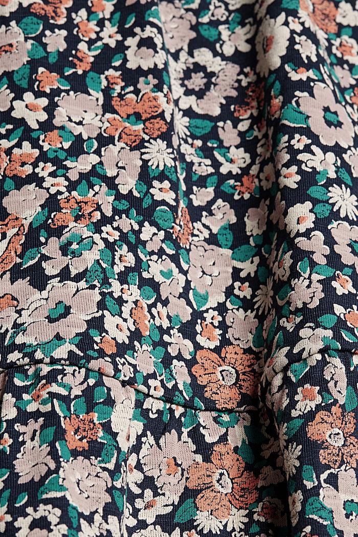 Jersey mini skirt, organic cotton, NAVY, detail image number 4