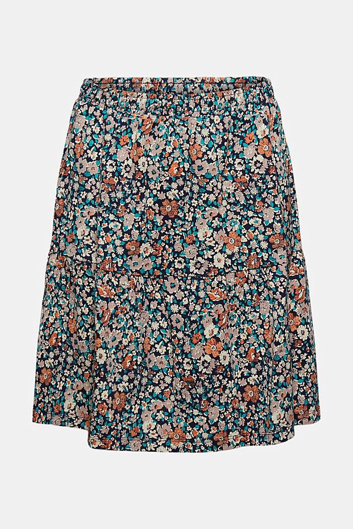 Spódnica mini z dżerseju, bawełna organiczna