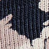 Spódnica mini z dżerseju, bawełna organiczna, NAVY, swatch
