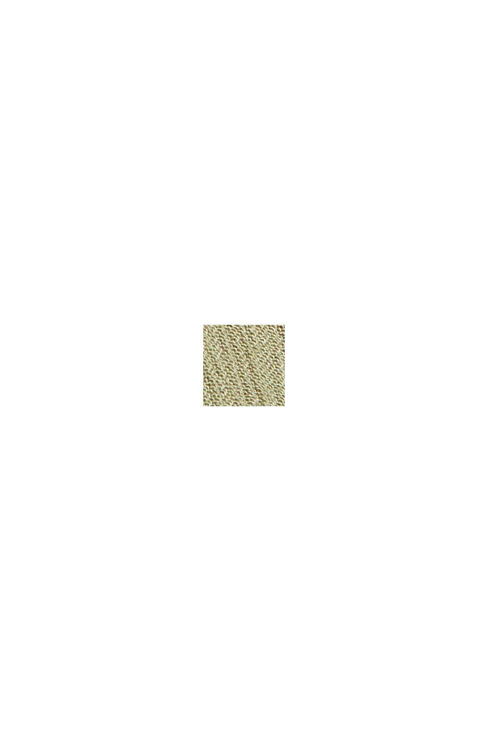 Crinkle-Maxikleid aus LENZING™ ECOVERO™, LIGHT KHAKI, swatch