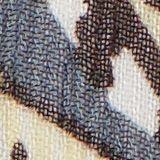 In materiale riciclato: abito camicia in chiffon con stampa, TURQUOISE, swatch