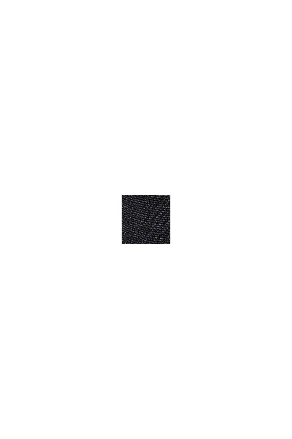 Midi jersey dress with LENZING™ ECOVERO™, BLACK, swatch