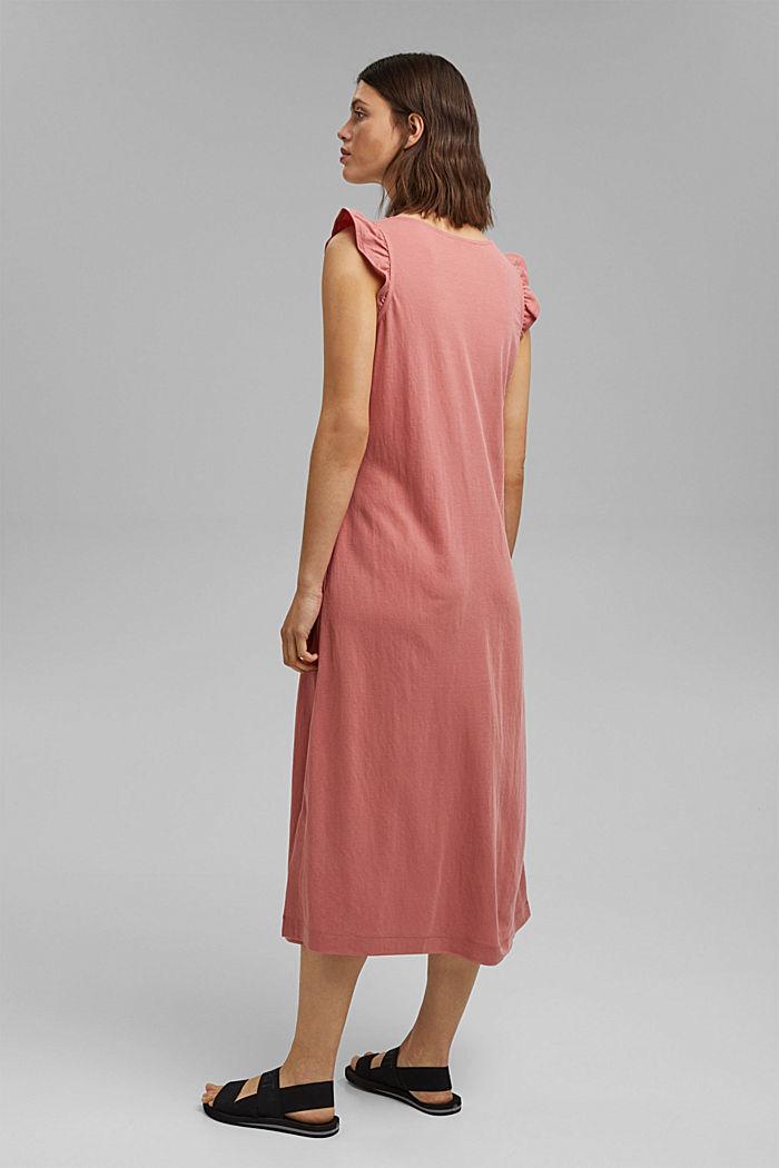 Midi jersey dress with LENZING™ ECOVERO™, BLUSH, detail image number 2