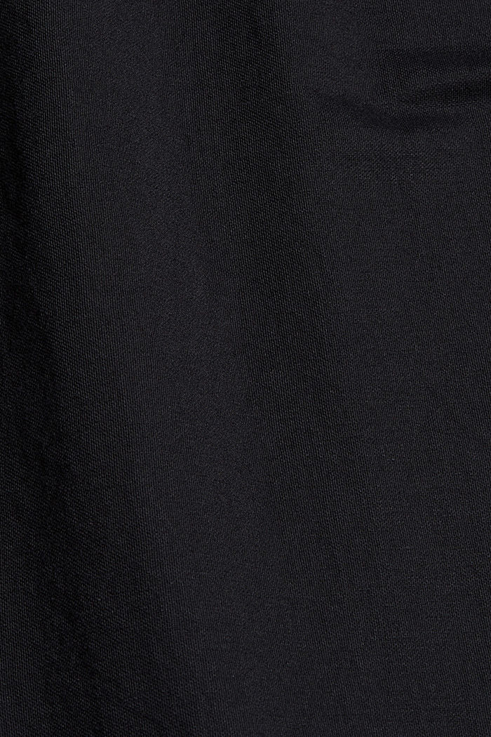Jersey dress with LENZING™ ECOVERO™, BLACK, detail image number 4
