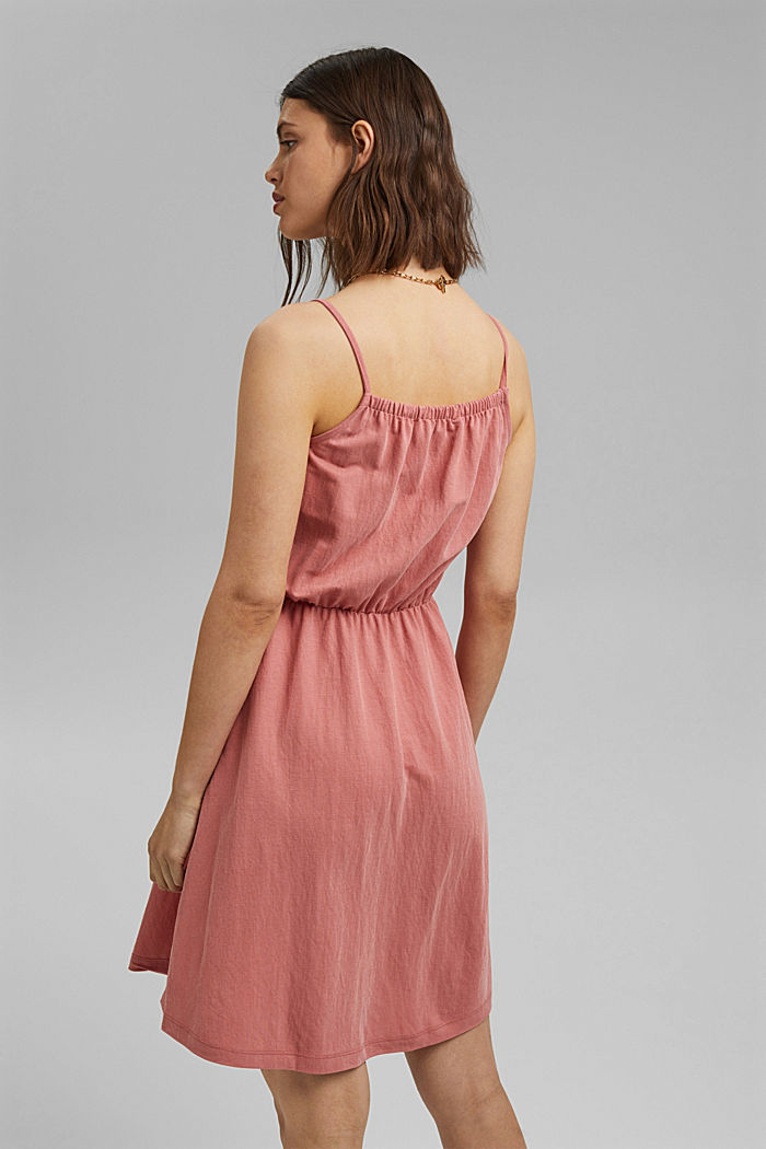 Jersey dress with LENZING™ ECOVERO™, BLUSH, detail image number 2