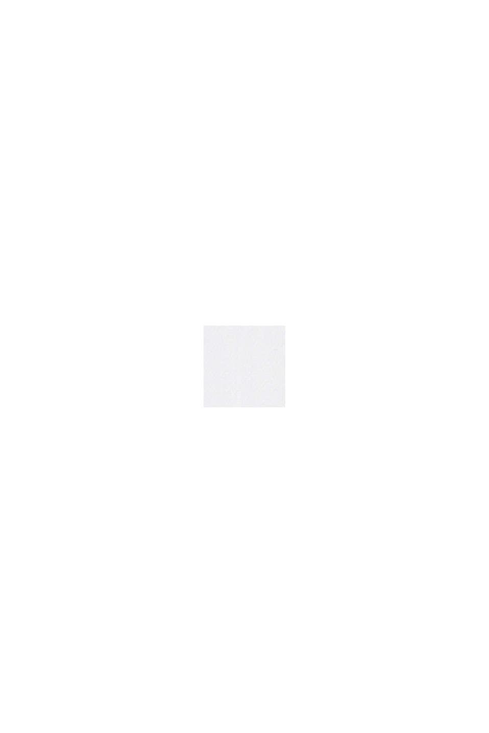 Besticktes Tunika-Kleid, 100% Bio-Baumwolle, WHITE, swatch