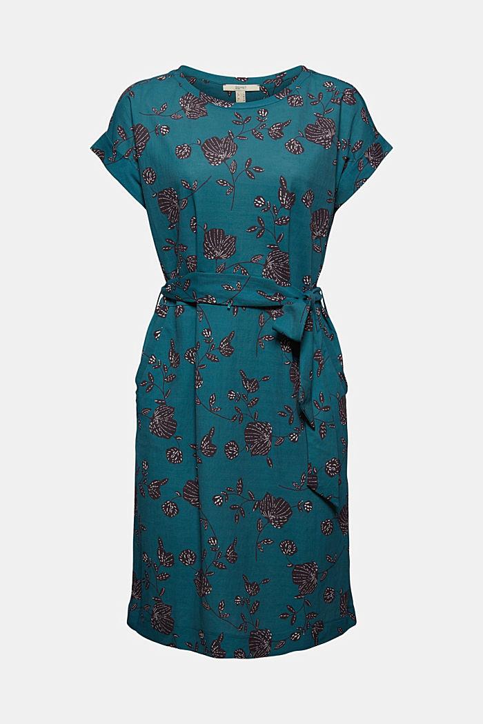Sukienka z paskiem z LENZING™ ECOVERO™