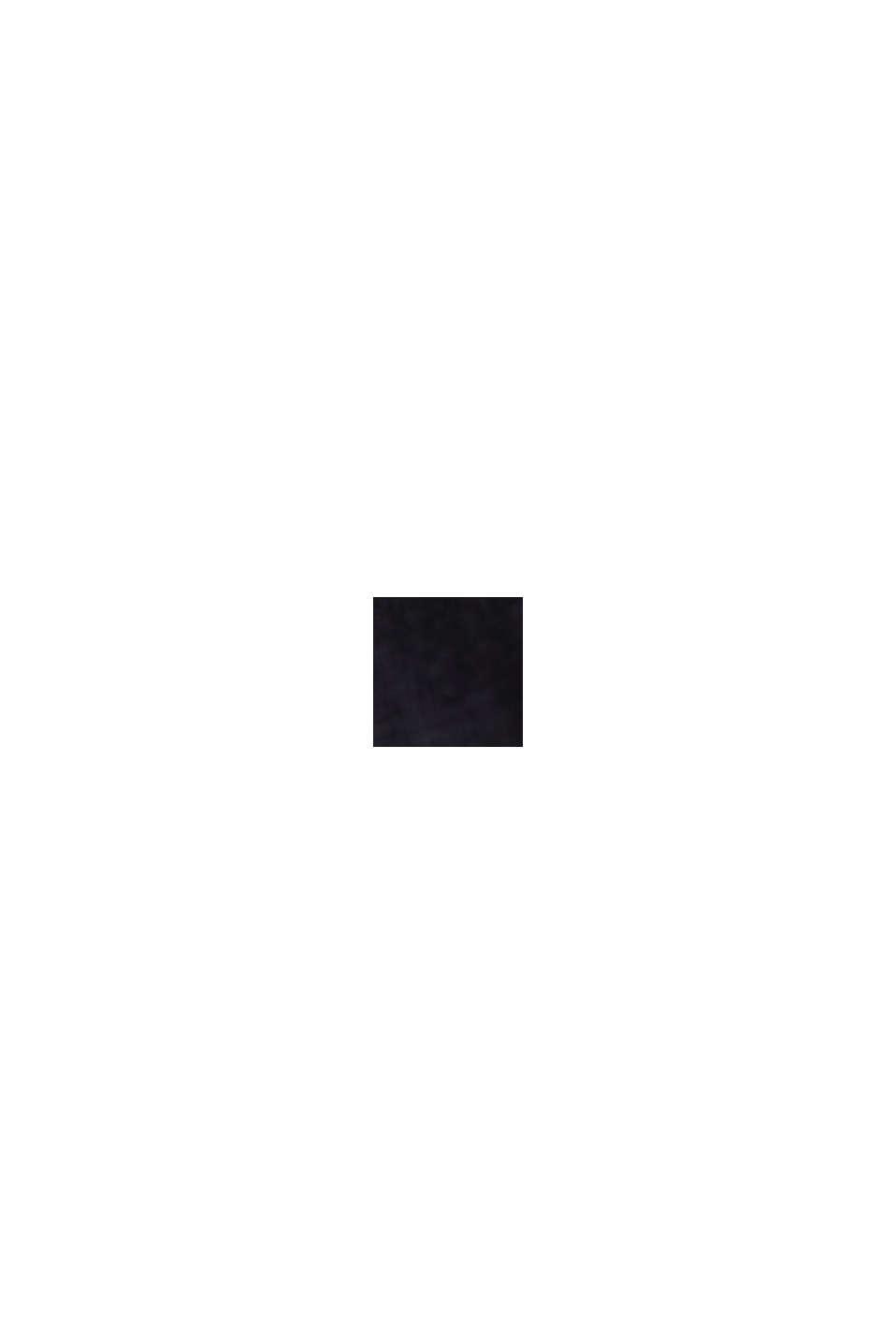 Vestido de jersey en 100 % algodón ecológico, BLACK, swatch