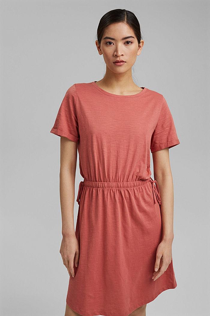 Vestido de jersey en 100 % algodón ecológico